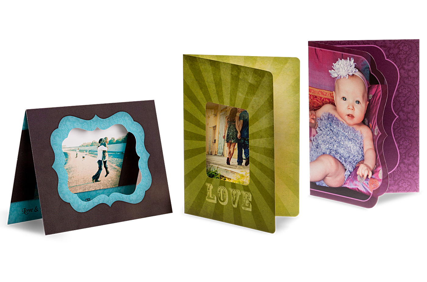 Press printed creative edge die cut cards bay photo lab bay cards catalog production time 1 business day reheart Images
