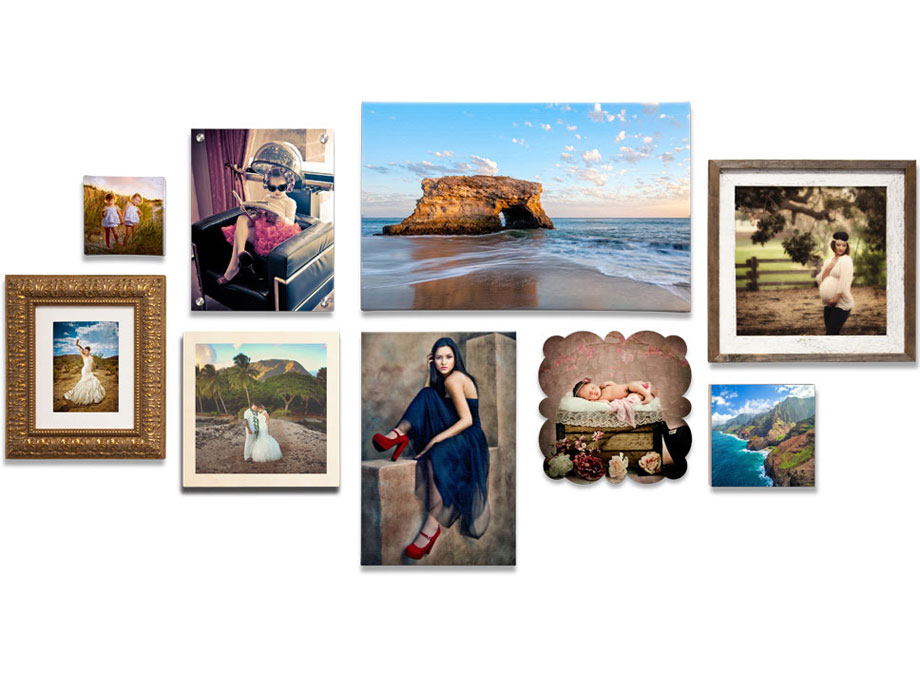 Custom Wall Displays from Your Photos