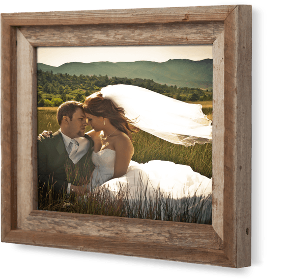 Handcrafted Wood Barn Frame