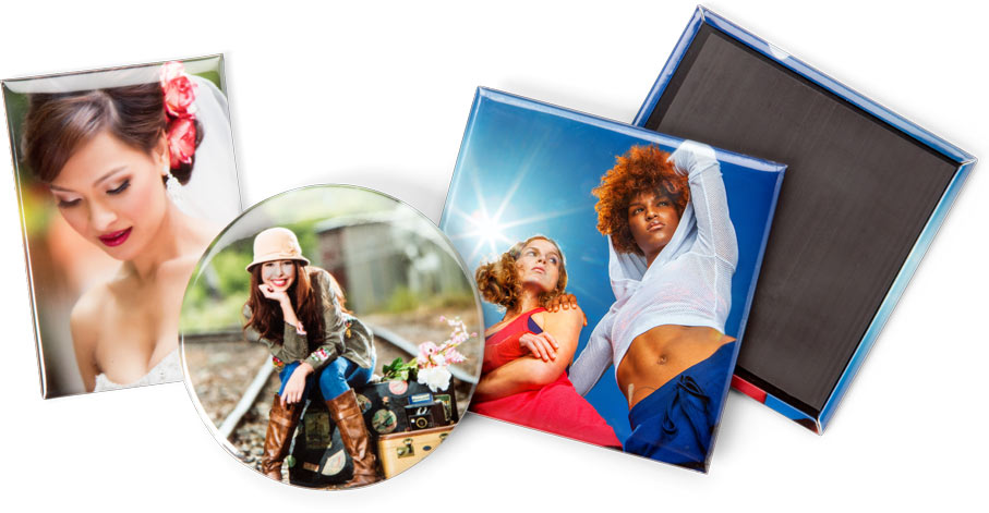Photo Magnet Buttons