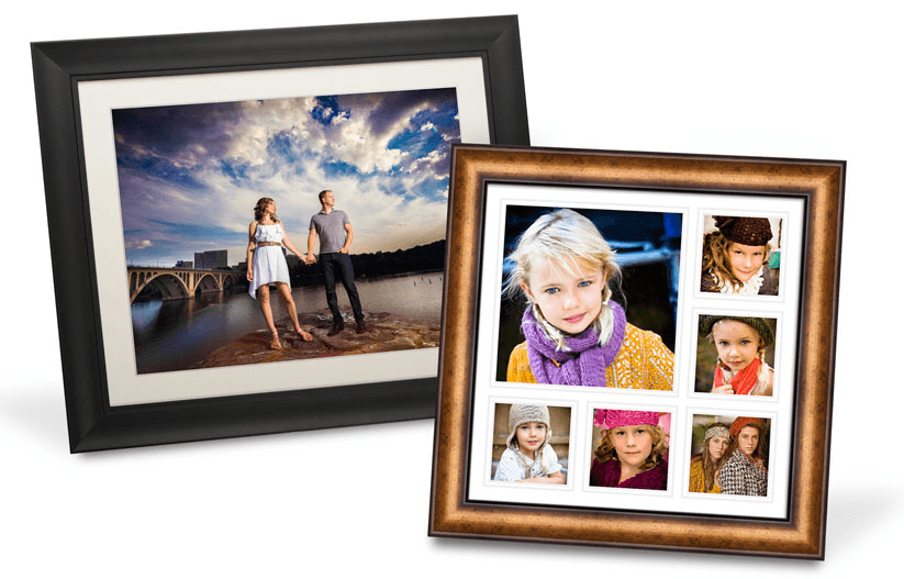 Frames and mounting options for you photos