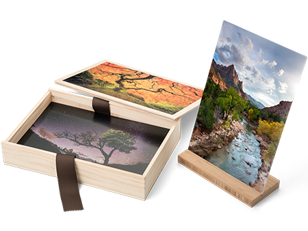 Personalized Wood Box for Photos, Keepsakes, and more