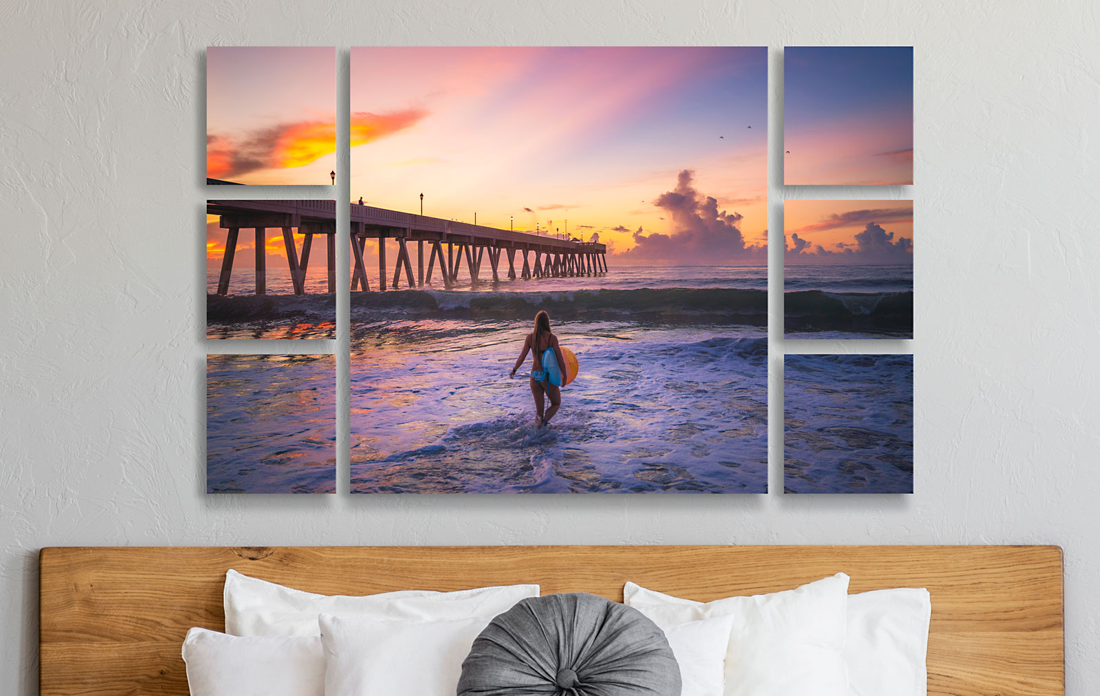 Wall Clusters & Splits - Wall Displays Featuring Your Images on Acrylic Prints