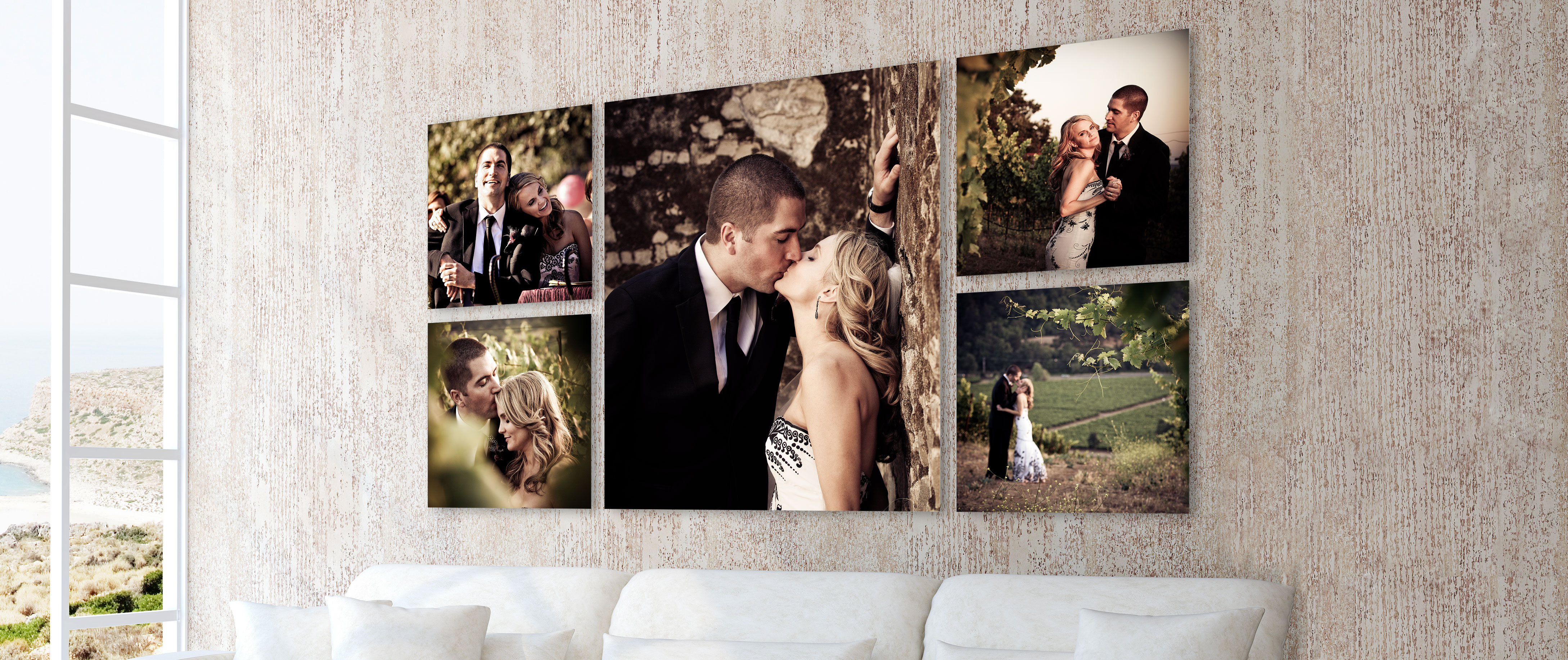 10% Off Wall Clusters and Splits from MetalPrints, ThinWraps, or Canvas Wraps