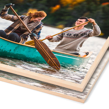 Photos Printed on Maple Wood from Bay Photo Lab